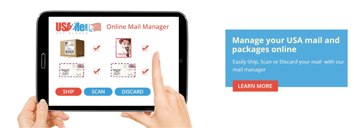 Package & Mail Forwarding, Get a USA Address, Remailing